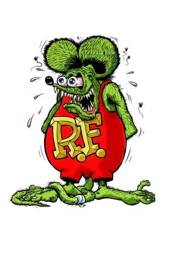 Rat Fink Poster 24in x36in (Posters Fink Rat)