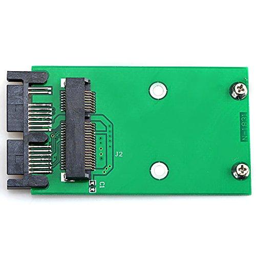 CY Mini PCI-E mSATA SSD a 1.8 Micro SATA 7 + 9 Adaptador ...