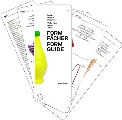 Formguide / Formfächer: Understand – Design – Terms / Design – Begriffe – Begreifen