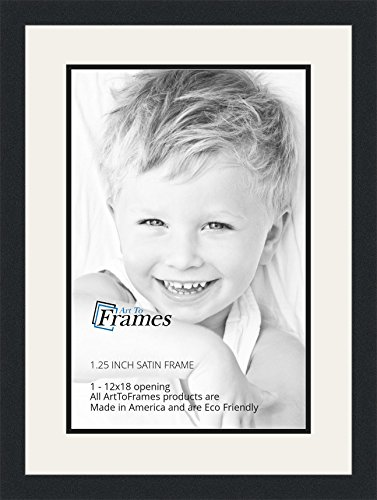 ArtToFrames Collage Photo Frame Double Mat with 1 - 12x18 Openings ...