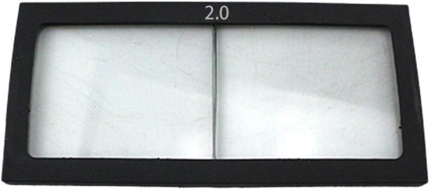 Ca.11 X 5,5 cm gazechimp 1x Vergr/ö/ßerungslinse Schwei/ßschutzglas Schutzscheiben f/ür Schwei/ßhelm 2.5