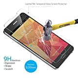 Note 3 Screen Protector, LaoHe(TM) Premium Tempered Glass Screen Protector Film for Samsung Galaxy Note 3-(1Pack)
