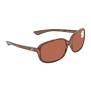 Costa Riverton 580P - Gafas de sol polarizadas para mujer - RVT10OCP, Talla única, Shiny Tortoise Frame Copper: Amazon.es: Deportes y aire libre