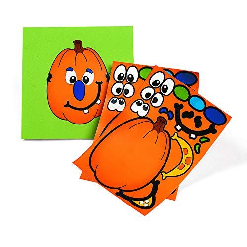 Make A Pumpkin Stickers (1 DOZEN) – BULK