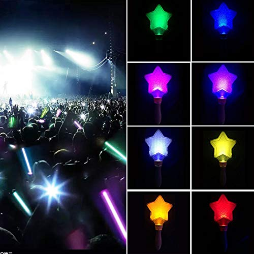 New Design Five Pointed Star Celebrations Wedding Luminous Glo Sticks Led Glow Stick, Christmas Decoration Home - Festive Lights In Christmas Lights, Christmas Decorations, Foil Stars, Silver - Crystal Tipperary Star