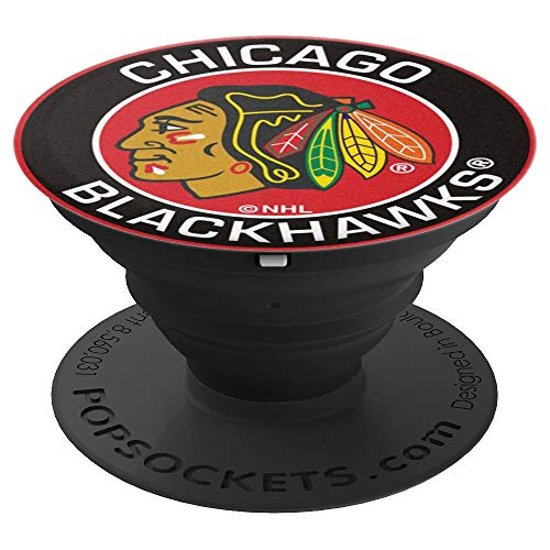 Vintage Chicago Hockey-Fans-Blackhawks-Tee Mens Womens kids - PopSockets Grip and Stand for Phones and Tablets