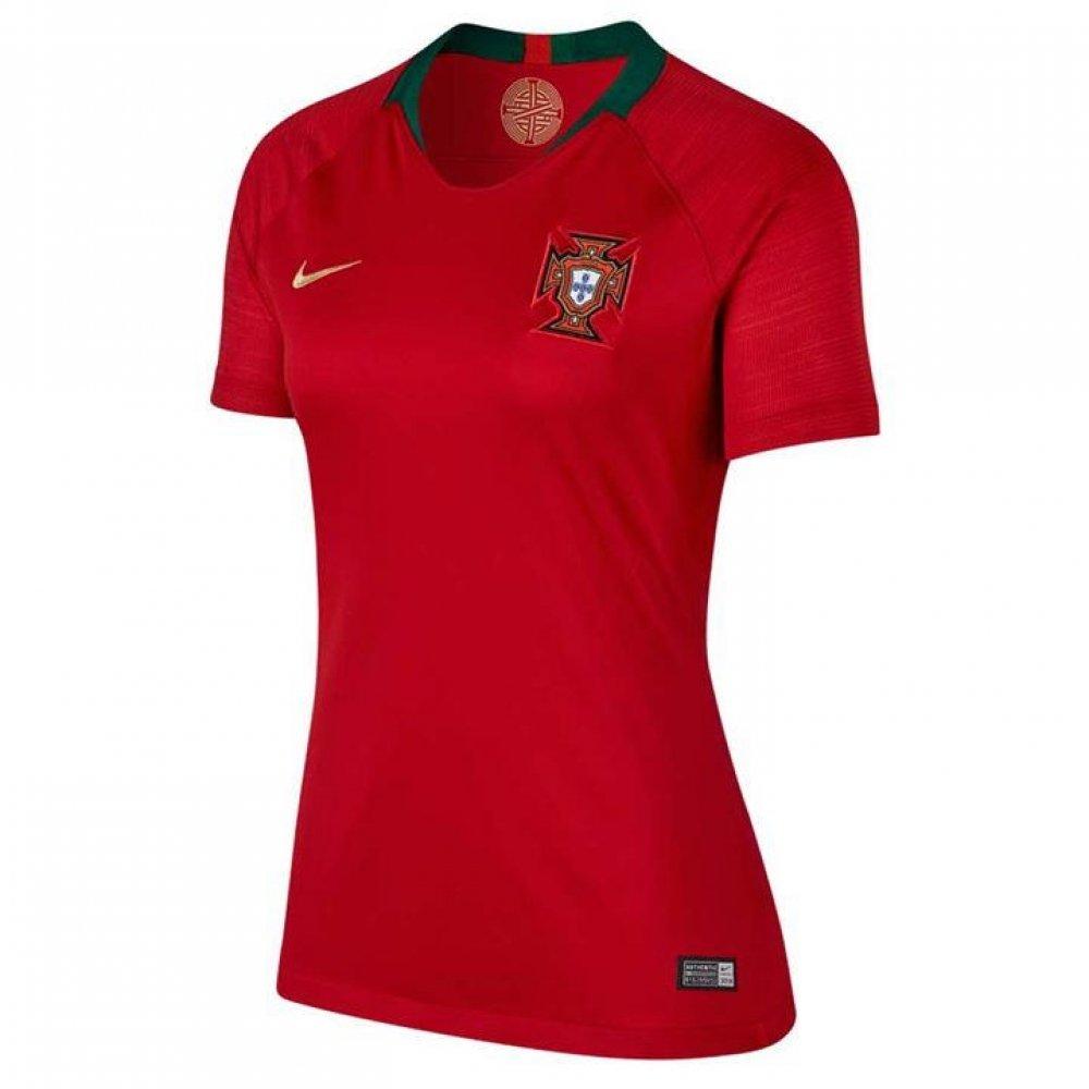 Nike 2018-2019 Portugal Home Damenschuhe Football Soccer T-Shirt Trikot