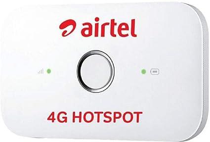 Huawei E5573Cs-609 Universal 4G Pocket WiFi Hotspot Dongle Datacard MiFi  Dongle Airtel 4G Logo