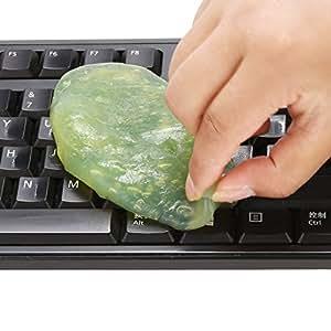 Amazon.com: Gel de limpieza de teclado Magic Cleaning Gum ...