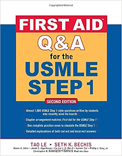 First Aid Q&A for the USMLE Step 1, Second Edition (First