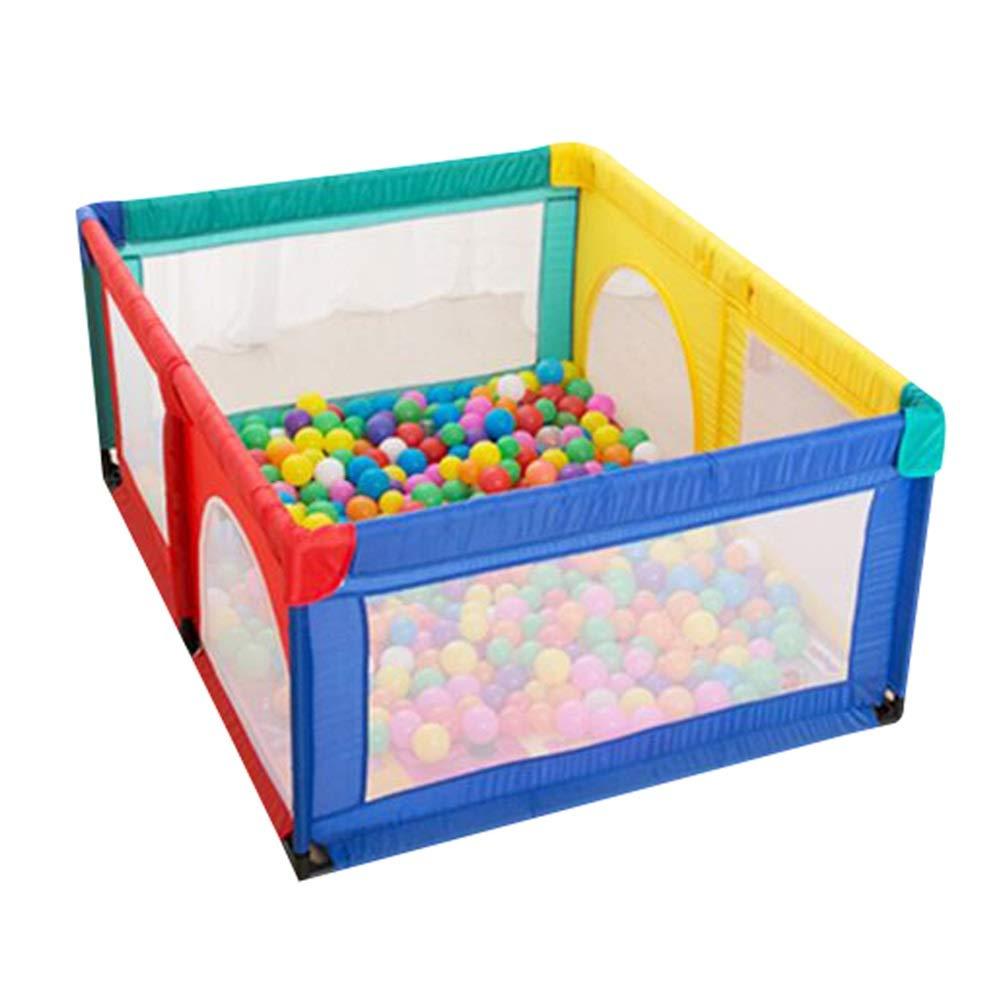 【第1位獲得!】 ポータブル赤ちゃんの遊び場の子供は 120×150cm、ボールとマットの活動センター、屋内の屋外の子供の幼児のセキュリティフェンスのおもちゃの家、高さ70センチメートル再生庭 (サイズ さいず : さいず : 120×150cm) 120×150cm B07K9DTB8N, こどもブティック ZOO:6e5c051a --- a0267596.xsph.ru