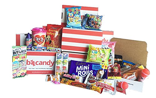 Bocandy - International Candy and Snack Box