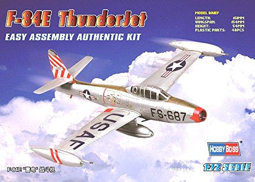 Hobby Boss F-84E Thunderjet Easy Assembly Kit Airplane Model Building Kit