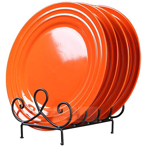 Worthy Shoppee 4 Place Plate Holder Plate Stand | Dish Rack | Dish Holder Price & Reviews