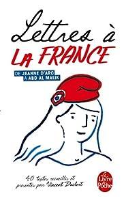 """Afficher """"Lettres à la France"""""""