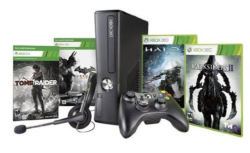 Black Friday Xbox 360 (Xbox 360 250GB Black Friday Bundle with Halo 4, Darksiders II, Tomb Raider and Batman: Arkham City)