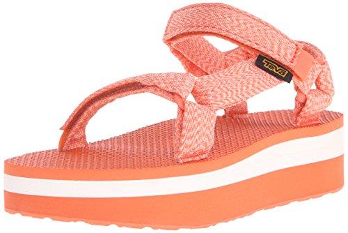 Teva Damen Flatform Universal Sandale Marlene Koralle
