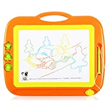 Holy Stone Magnetic Colorful Erasable Drawing Board Large Size Doodle Sketch Kids Educational Toys with Stamper