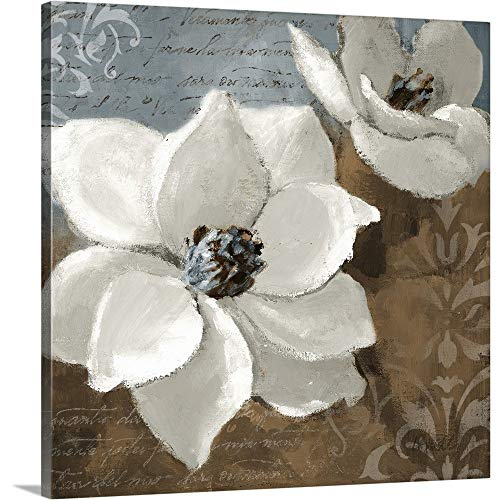 White Magnolias I Canvas Wall Art Print, 20