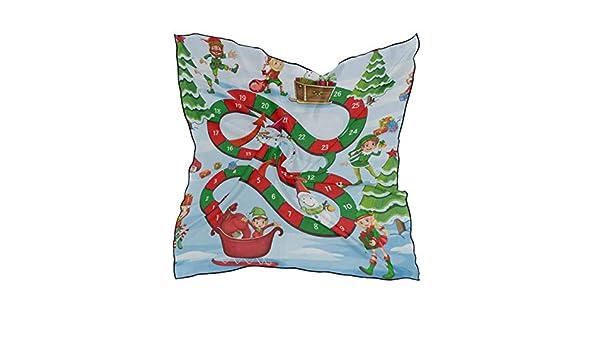 Soft Polyester Silk Long Hair Scarf Fashion Print Cute Cartoon Christmas Game Head Scarfs For Men Square Head Scarf For Women Head Scarf Multiple Ways Of Wearing Daily Decor