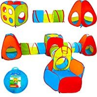 Playz Ball Pit, Play Tent and Tunnels for Kids, Gift for Toddler Boys & Girls, Best...