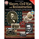 "Mark Twain CD-404139 American History Series Slavery, Civil War, and Reconstruction, 0.3"" Height, 8.4"" Width, 10.8"" Length"