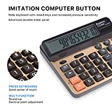 Calculator 12 Digits LCD Display Standard Function
