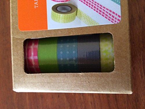 Tape Dispenser Gartner,1 Tape Dispenser,5 Decorative Tapes
