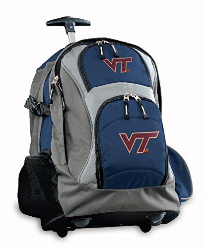 Ncaa Rolling Backpack - Broad Bay Virginia Tech Rolling Backpack or Hokies CarryOn Suitcase Bag OFFICIAL NCAA BAGS