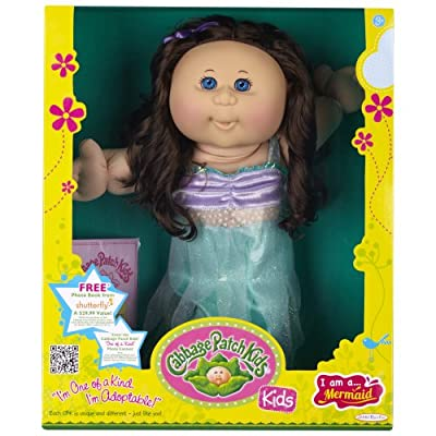 Cabbage Patch Kids Doll - Mermaid Caucasian Girl Brunette from Cabbage Patch Kids