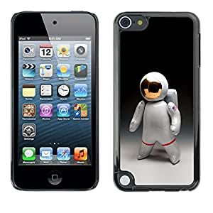 A-type Colorful Printed Hard Protective Back Case Cover Shell Skin for Apple iPod Touch 5 ( Astronaut Man Cosmonaut Space Suit )