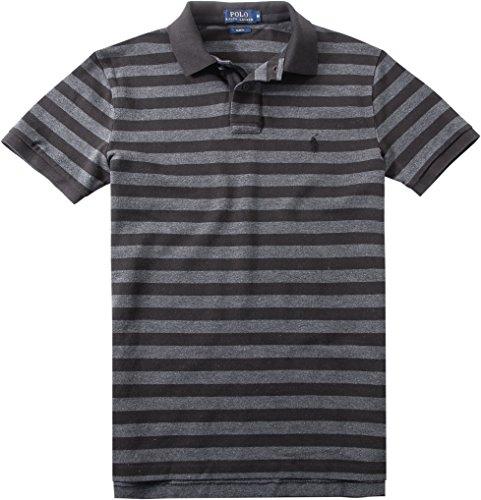 Polo Ralph Lauren Herren Polo-Shirt Baumwolle T-Shirt Gestreift, Größe: XXL