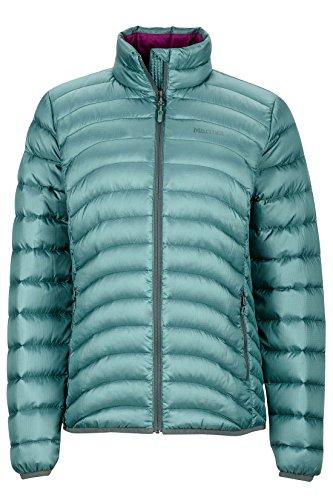 Marmot Aruna Women's Down Puffer Jacket, Fill Power 600, Urban Army, Medium