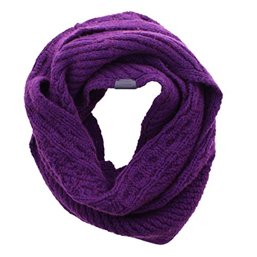 Coach Women's 84061 Wool Cashmere Aran Legacy Knit Infinity Scarf by Coach