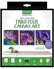 Crayola Mini Canvas Painting Kit, DIY Marbleizing