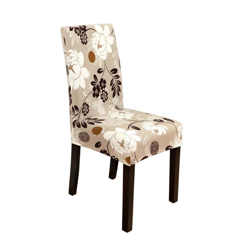 copertura della sedia da ufficio per la casa lavabile antiscivolo rimovibile per la copertura protettiva della sedia AITOCO Coperture della sedia da pranzo Stretch
