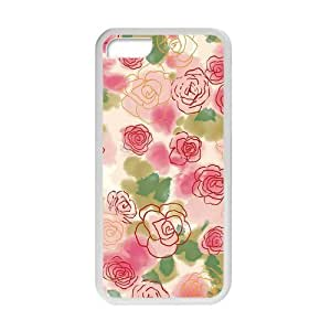 Welcome!Iphone 5C Cases-Brand New Design Beautiful Flower Pattern Printed High Quality TPU For Iphone 5C 4 Inch -07