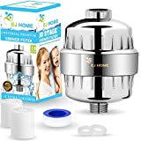 Kyпить 10-Stage Shower Filter for Premium Body Care Experience - Give Your Hand Held or Rain Shower Head Filtered Water - Ideal Filter for Hard Water, Chlorine Fluoride - Includes 2 Water Filter Cartridges на Amazon.com
