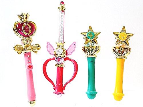 BANDAl Sailor Moon Mini Collection - 2pcs Set