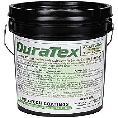 Image of Carpet & Vinyl Acry-Tech DuraTex Black 1 Gallon Roller Grade Speaker Cabinet Coating