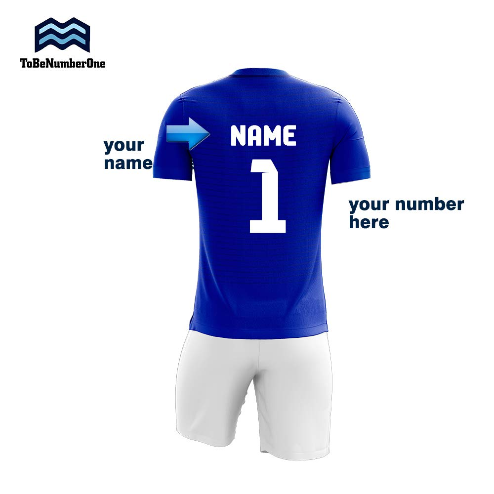8461449dc2dd Amazon.com  Custom Sublimated Football Jersey Numbers Personalise Your own  Soccer Shirt 4style  Clothing