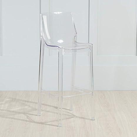 Wondrous Liuzecai Dining Chair Acrylic Dining Chairs Transparent Seat Ibusinesslaw Wood Chair Design Ideas Ibusinesslaworg