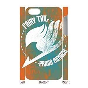 YUAHS(TM) Custom 3D Cover Case for Iphone 4,4S with fairy tail YAS035914