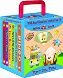 Puppy Dog Tails 6-book Travel Pack, Mother Goose Nursery Rhymes (with audio CD and carrying case) (Travel Pack)
