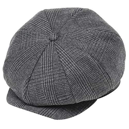 (BABEYOND Newsboy Hat Cap for Men Women Gatsby Hat for Men 1920s Mens Gatsby Costume Accessories (Plaid)