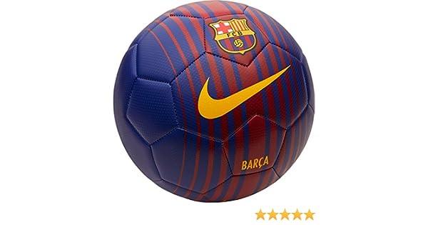 Nike PRSTG Balón Línea FC Barcelona, Unisex Adulto, Azul (Deep ...