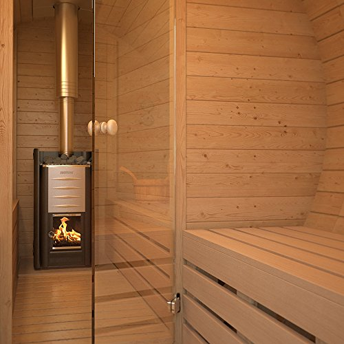 isidor fasssauna m3 premium inkl holzofen fasssauna. Black Bedroom Furniture Sets. Home Design Ideas
