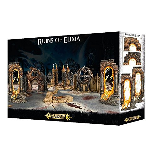 Ruins of Elixia Warhammer Age of Sigmar Scenary