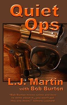 Quiet Ops (The Manhunter Series Book 3) by [Martin, L. J., Burton, Bob]