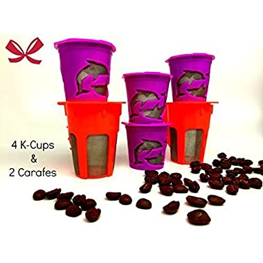 R'stoyours Reusable and Refillable Coffee Filter Set